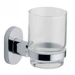 Ohio Glass Cup & Holder