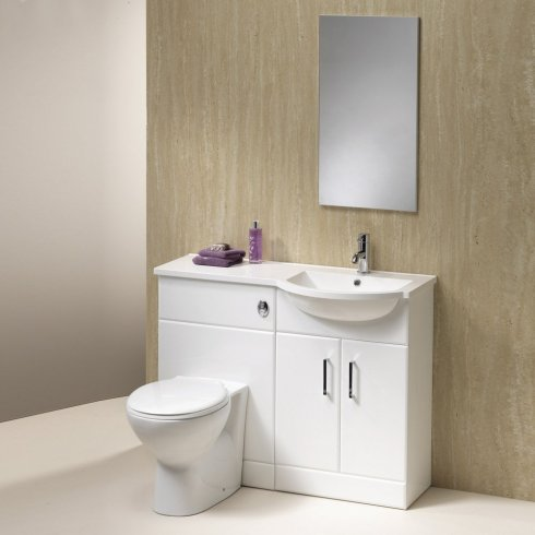 Qualitex - Genesis Richmond 1050mm 1-Piece Basin Combination