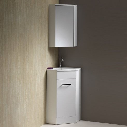 Qualitex - Genesis Richmond 400mm Corner Base Unit & Basin