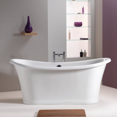 Qualitex - Iconic Duke Freestanding Bath - 1650 x 740mm & 1750 x 800mm