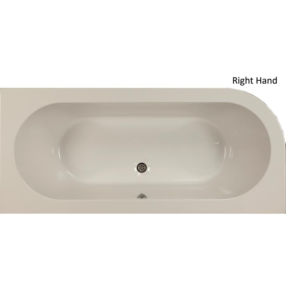 Qualitex - Plexicor Henley Offset Skirted Bath - 1700 x 750mm ...