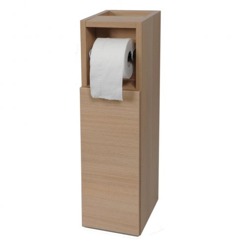 Qualitex - Q-Line Base Unit including Toilet Roll Holder - Slimline 240mm Depth