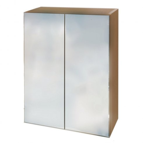 Qualitex - Q-Line Mirrored Wall Cabinet