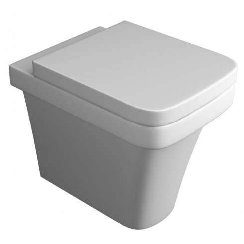 Qualitex - QX Aston Back-to-Wall Pan including Soft Close Seat