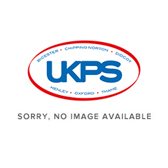 Ebony 450mm x 330mm 'D' Shaped Cloakroom Basin