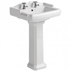 Legend 580 x 470mm Basin & Pedestal