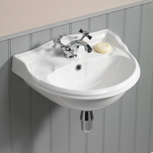 Qualitex - QX Mirabelle Cottage 500 x 380mm Cloakroom Basin