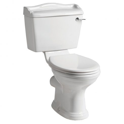 Qualitex - QX Mirabelle Cottage Lever WC including Soft Close Seat