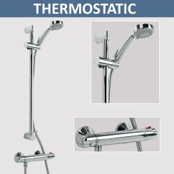 Thermostatic Bar Valve & Shower Kit