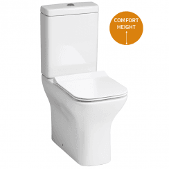 Cornell Elevated WC including Soft Close Seat