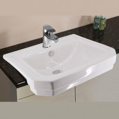 Grosvenor 545 x 440mm Semi-Recessed Basin