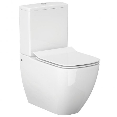 QX Metropolitan Rimless WC including Soft Close Seat