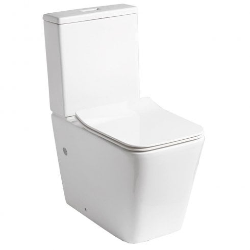 QX Monza Rimless WC including Soft Close Seat