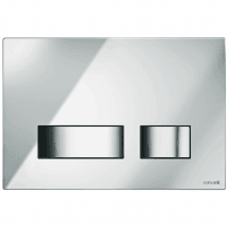 Movi Mechanical Flush Plate - Chrome