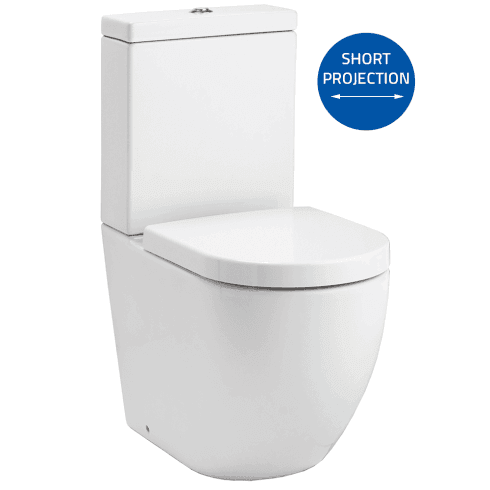 QX Opal Rimless WC including Soft Close Seat