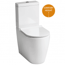 Roma Elevated WC including Soft Close Seat