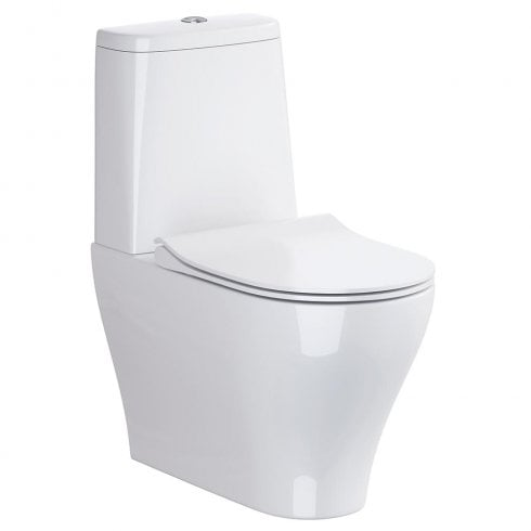 QX Urban Harmony Rimless WC including Soft Close Seat