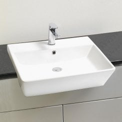 Verona 550 x 430mm Semi-Recessed Basin