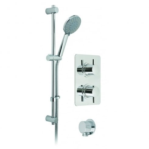 Vado Celsius 2-Handle 1-Way Showering Package  (CEL-1710-21-C/P)