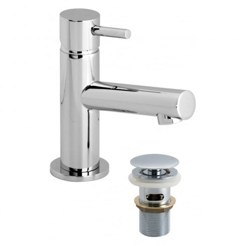 Vado Zoo Mini Mono Basin Mixer with Clic-Clac Waste  (ZOO-100M/CC-C/P)