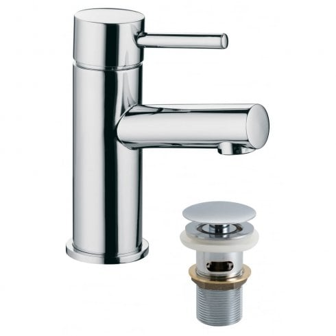 Vado Zoo Mono Basin Mixer with Clic-Clac Waste  (ZOO-100/CC-C/P)