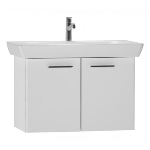 Vitra S20 - High gloss white - Washbasin unit 65cm (including basin)