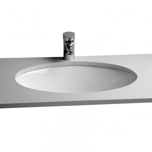 Vitra S20 - Under-counter basin, 42cm, oval