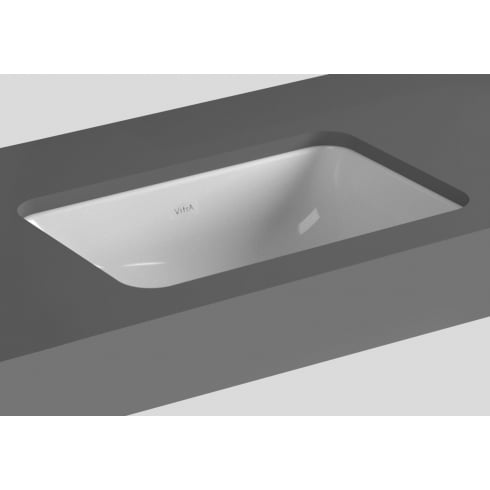 Vitra S20 - Under-counter basin, 43cm rectangular
