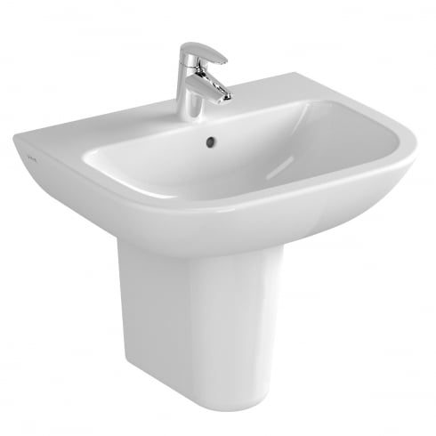Vitra S20 - Washbasin 55cm White 1TH