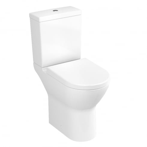 Vitra S50 - Comfort height close-coupled WC pan (open back)