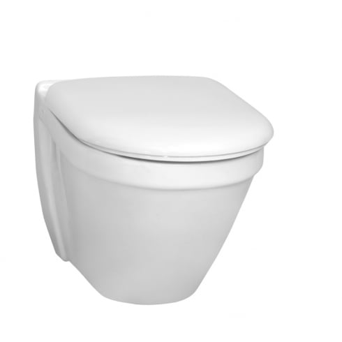 Vitra S50 - Wall-hung WC pan, 48cm short-projection