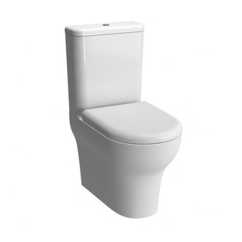 Vitra Zentrum - Close-coupled WC pan (fully back-to-wall)